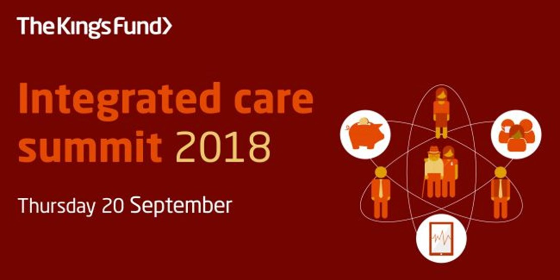Header image for the current page Learn more about our transformational solutions at  The King's Fund integrated care summit 2018