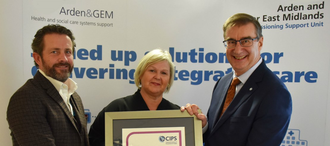 Header image for the current page Arden & GEM CSU awarded procurement excellence by Chartered Institute of Procurement & Supply