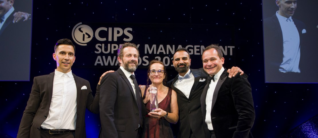 Header image for the current page Arden & GEM wins 'International Procurement Project' at the  CIPS Supply Management Awards 2018