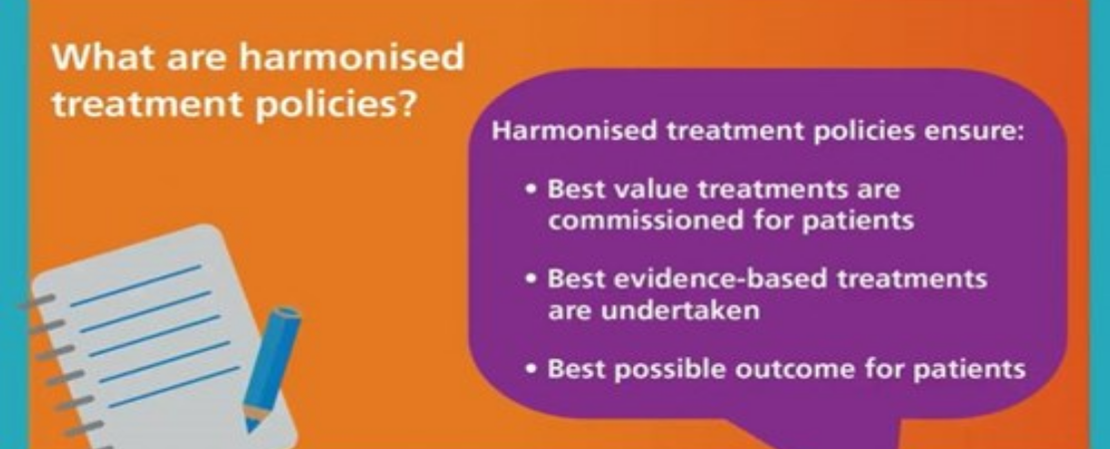Header image for the current page Harmonising treatment policies in Birmingham, Sandwell and Solihull