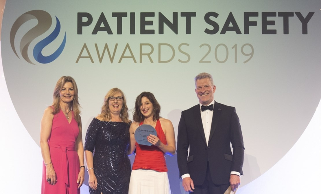 Header image for the current page Medicines management success at the Patient Safety Awards