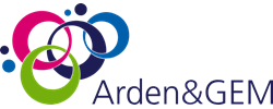 Arden and GEM footer logo