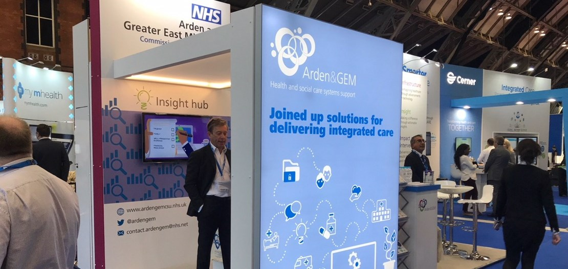 Header image for the current page Meet our team at Health and Care Innovation Expo 2019