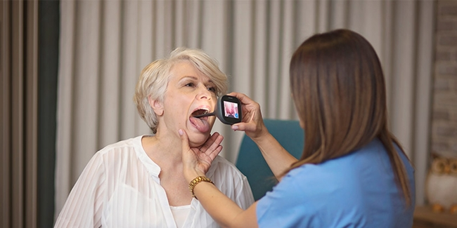 A selected image which represents the Delivering remote clinical examinations to care home residents item